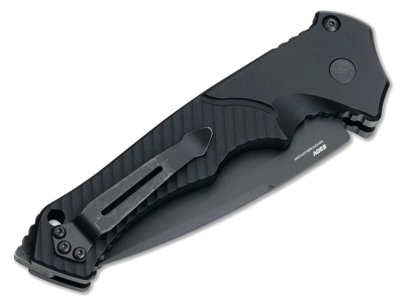 Фото 4 - Полуавтоматический нож Benchmade 9600BK Rukus II, сталь CPM-S30V, рукоять алюминий
