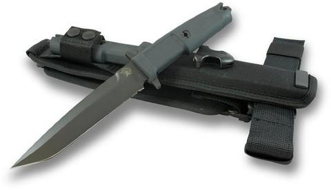 Нож с фиксированным клинком Extrema Ratio Col Moschin Black, Special Edition, сталь Böhler N690, рукоять пластик