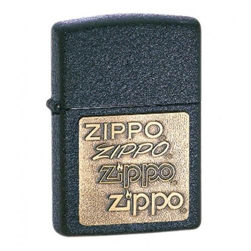 Зажигалка ZIPPO Classic с покрытием Black Crackle™, латунь/сталь, матовая, 36x12x56 мм