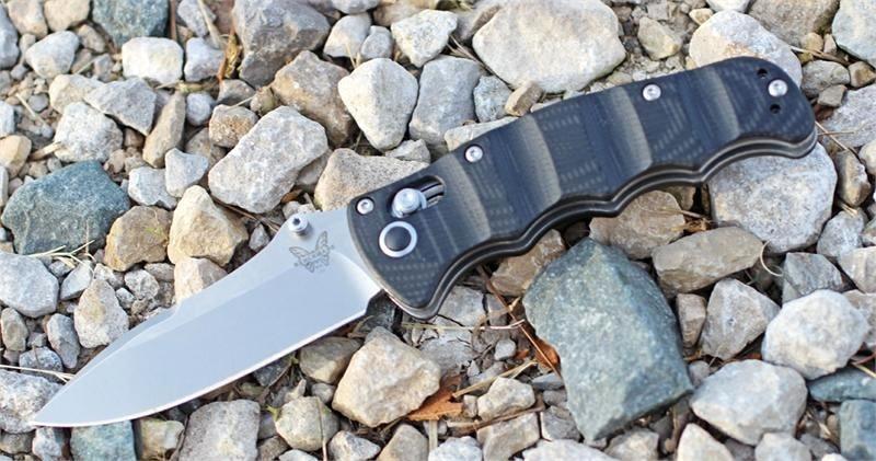 Фото 4 - Складной нож Benchmade Nakamura 484, сталь M390, рукоять G-10