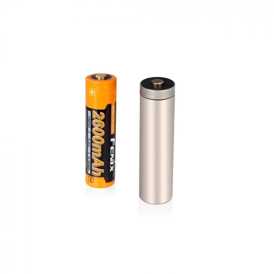 Аккумулятор 18650 Fenix ARB-L18-2600 аккумулятор fenix 10180 80mah arb l10 80
