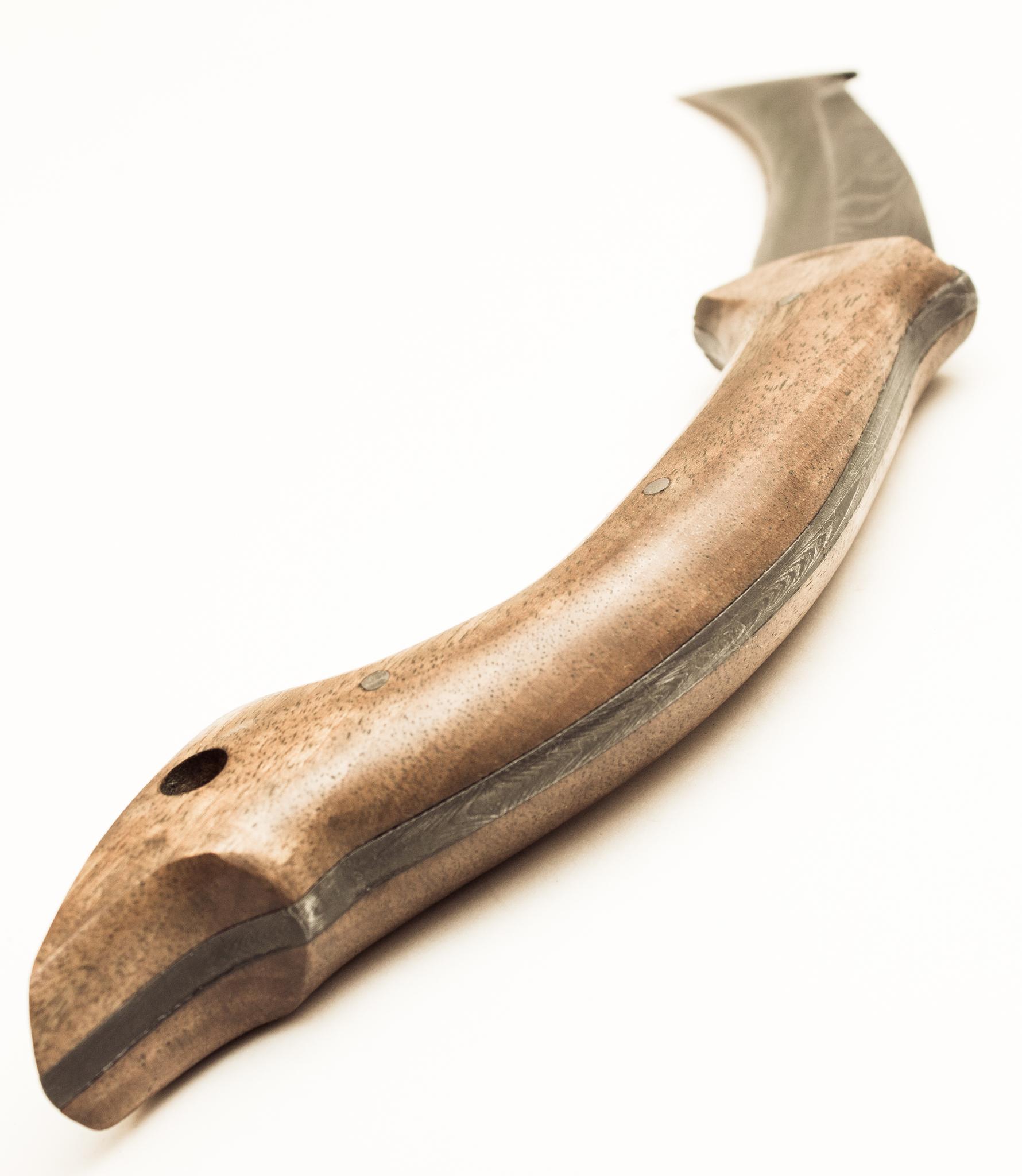Фото 9 - Нож-керамбит Скорпион, дамасская сталь от Павловские ножи