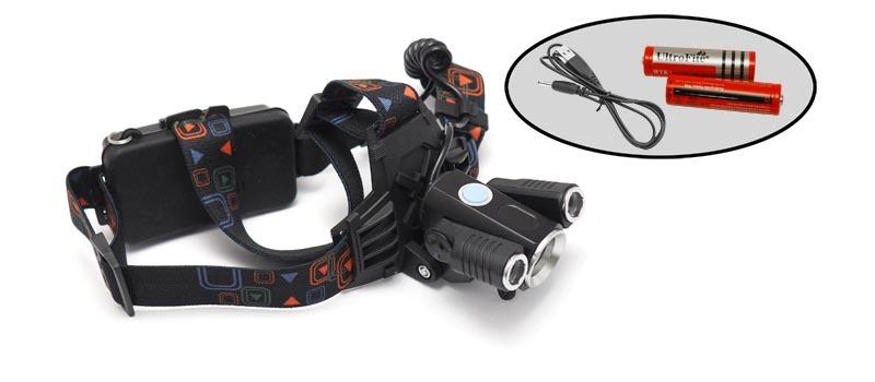 Фонарь налобный светодиодный F62L цены онлайн