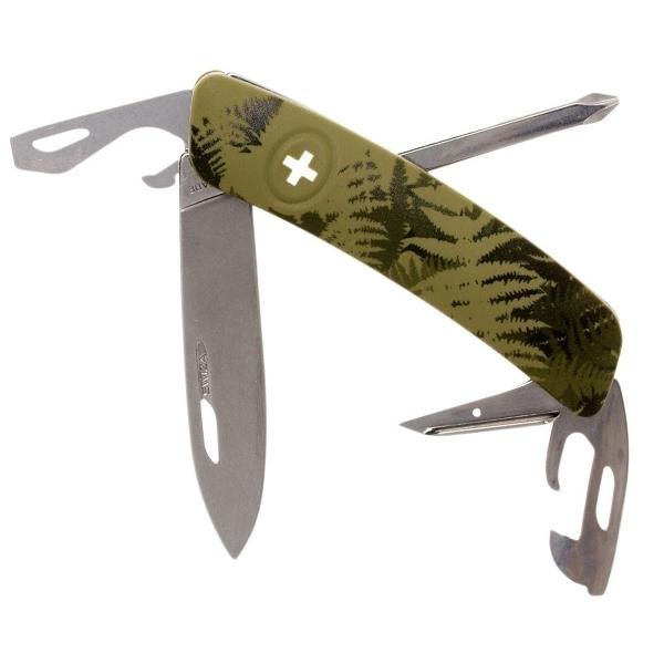 Фото - Швейцарский нож SWIZA C04 Camouflage, 95 мм, 11 функций, хаки rm c04