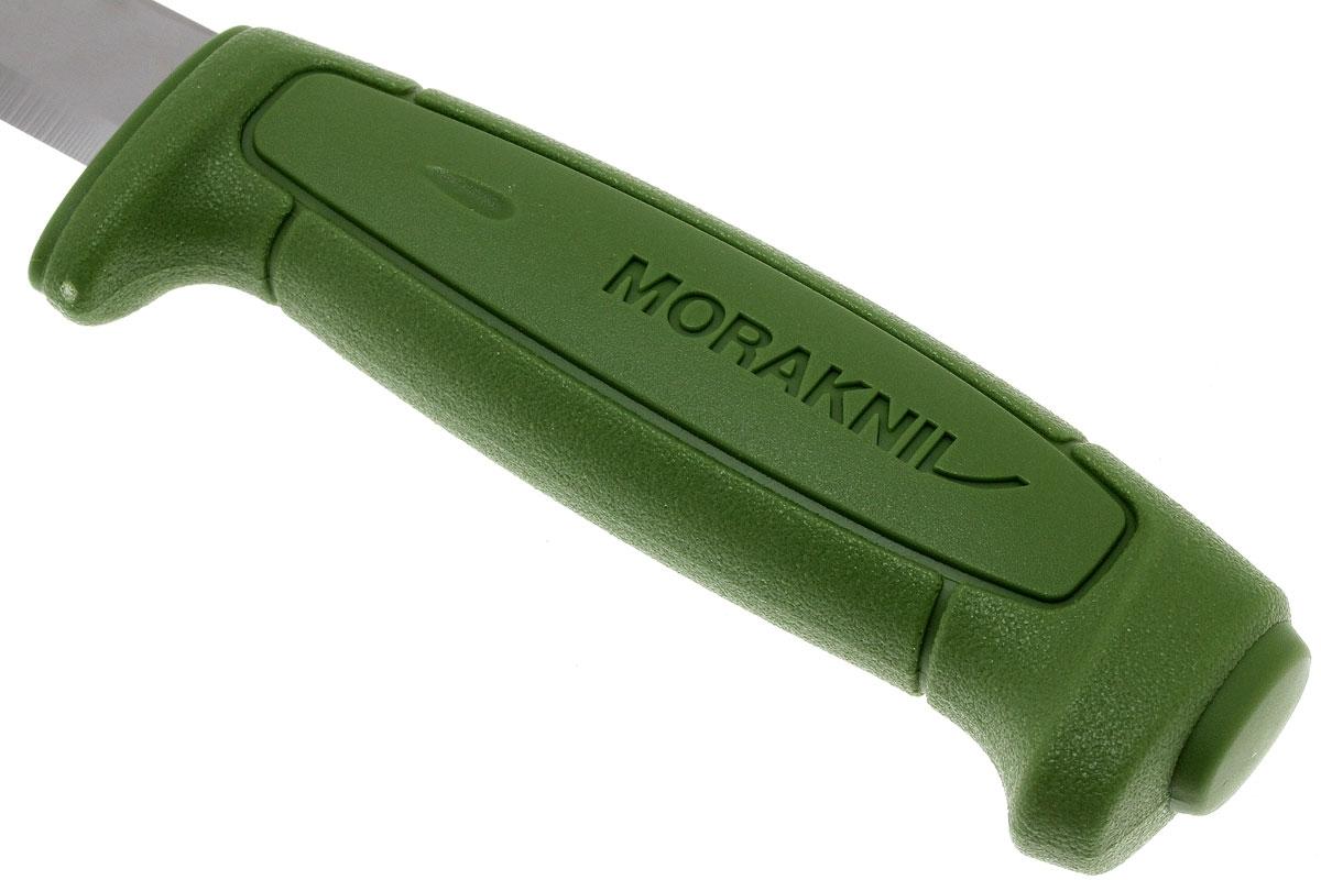 Фото 11 - Нож с фиксированным лезвием Morakniv SAFE, углеродистая сталь, рукоять пластик, зеленый