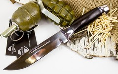 Нож Макс, сталь 95х18, граб, фото 2