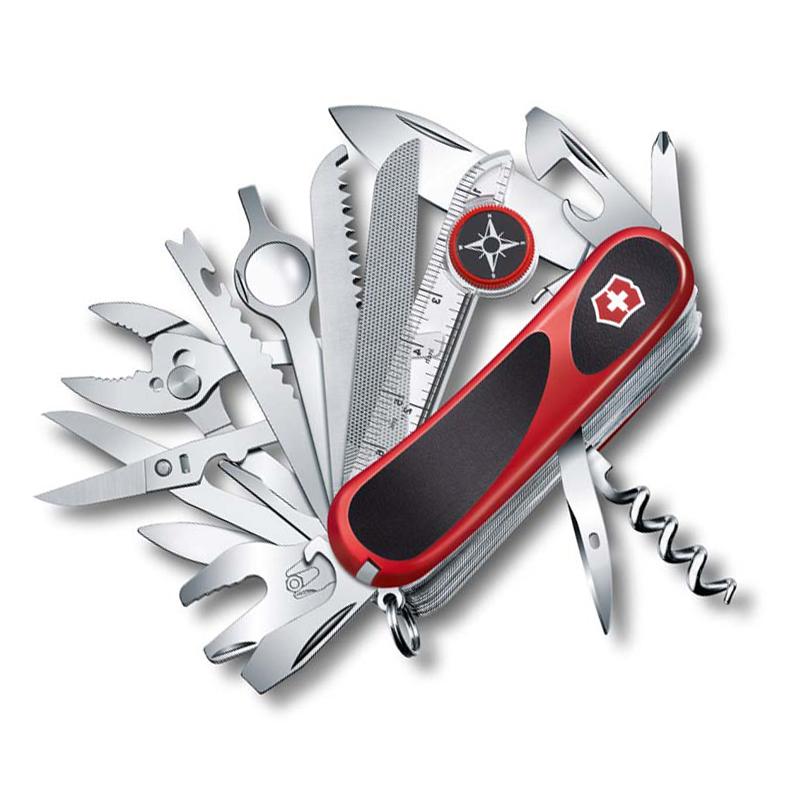 Нож перочинный Victorinox EvoGrip S54 2.5393.SC 85мм 31 функция красно-чёрный