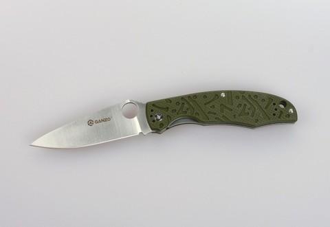 Складной нож Ganzo G7321, зеленый - Nozhikov.ru