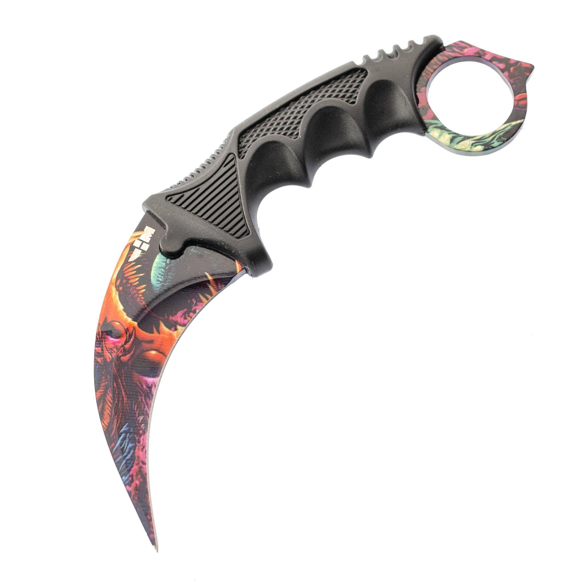 Нож CS GO керамбит Ярость зверя от Ножемир