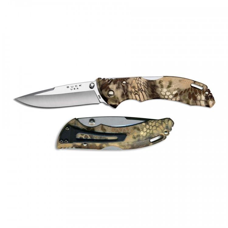 Фото 5 - Складной нож Buck Bantam BHW Kryptek Highlander Camo 0286CMS26, сталь 420НС, рукоять пластик