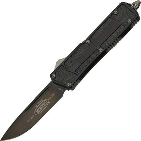 Автоматический выкидной нож Scarab Quick Deployment Black. Вид 1