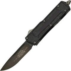 Автоматический выкидной нож Scarab Quick Deployment Black, фото 1