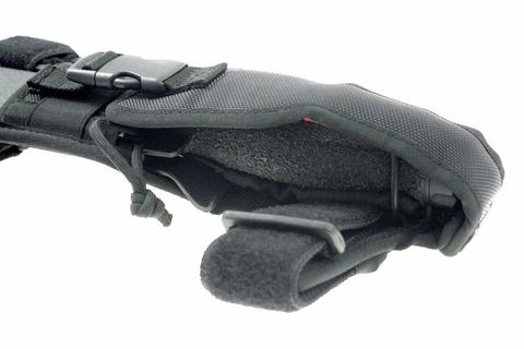 Нож-кинжал пловца Extrema Ratio Ultramarine Con Asola, сталь Böhler N690, рукоять полиамид. Вид 6
