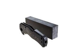 Нож складной LionSteel TM1 CB, сталь Sleipner, рукоять карбон, фото 6