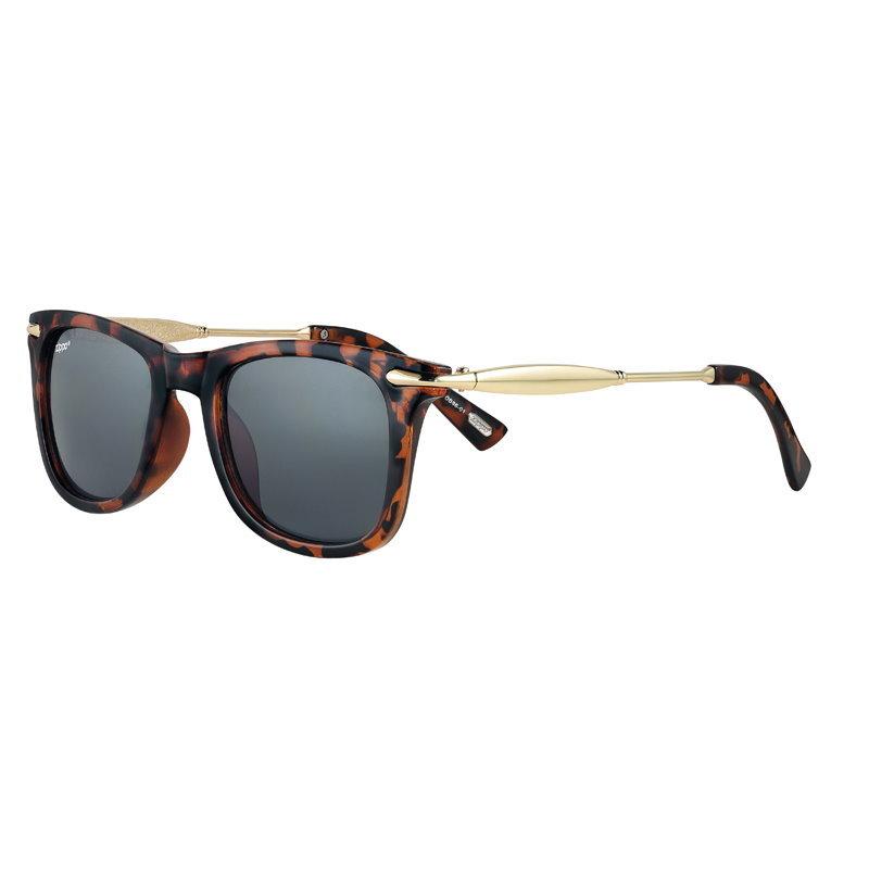 Фото - Очки солнцезащитные ZIPPO OB86-01, унисекс, коричневые, оправа из поликарбоната очки солнцезащитные zippo ob70 01 унисекс чёрные оправа из поликарбоната