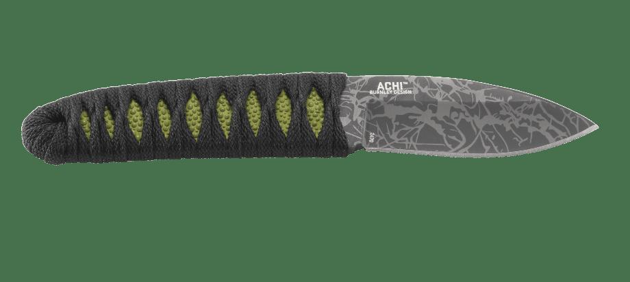 Фото 12 - Нож с фиксированным клинком CRKT Achi, сталь 8Cr13MoV, рукоять паракорд
