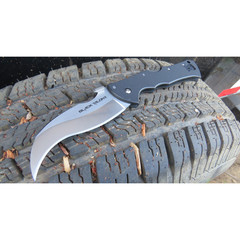 Складной нож Black Talon II - Cold Steel 22BT, сталь Carpenters CTS® XHP Alloy, рукоять G10, фото 7