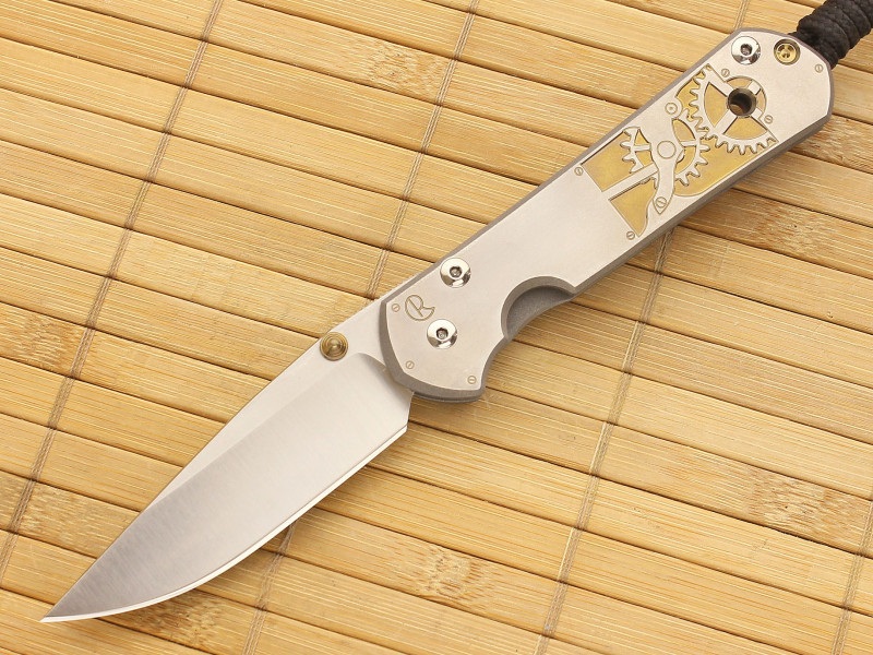 Нож складной Large Sebenza 21 Computer Generated Graphics Inside Time от Chris Reeve
