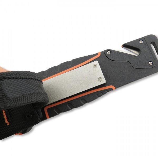 Фото 9 - Нож для выживания Nightingale, orange от WithArmour