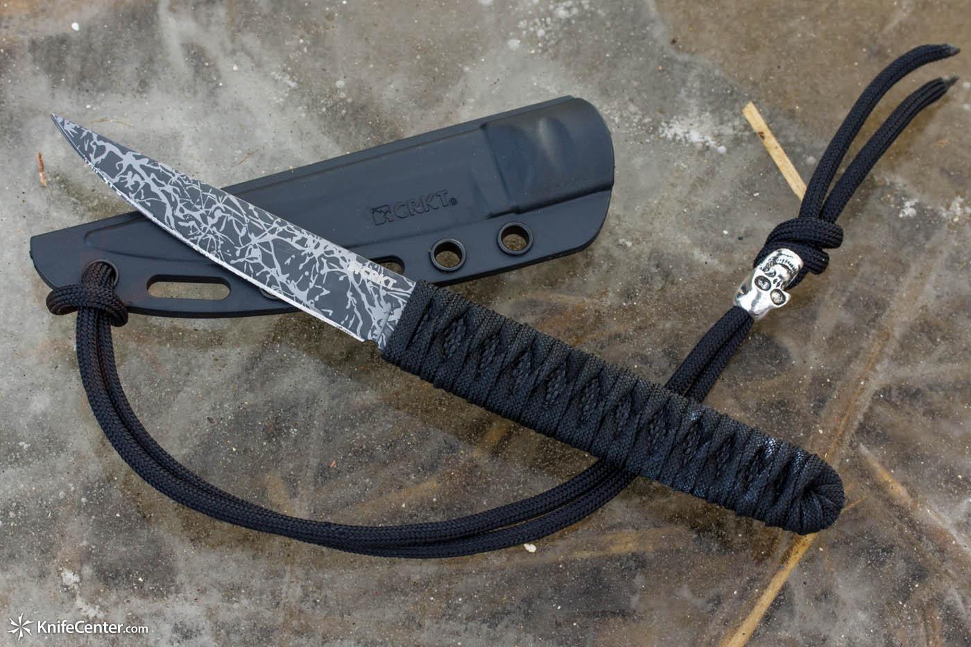 Фото 8 - Нож с фиксированным клинком Obake™-2, Designed by Lucas Burnley от CRKT