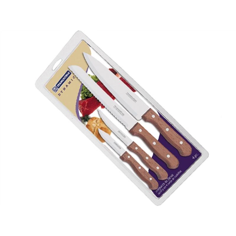 Набор из 4 ножей Tramontina Dynamic нож многофункциональный 4 в 1 fissman 21 5 x 4 см