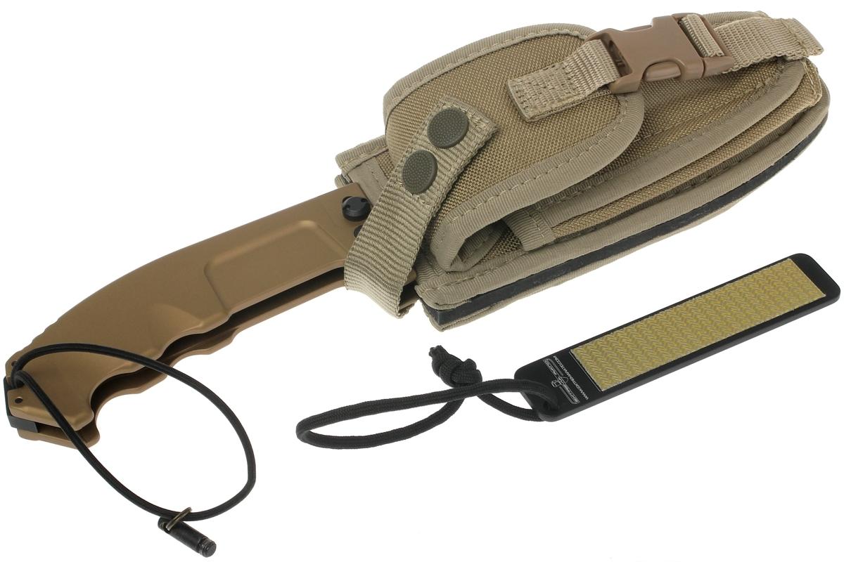Фото 5 - Складной нож Extrema Ratio RAO Desert Warfare, сталь Bhler N690, рукоять алюминий