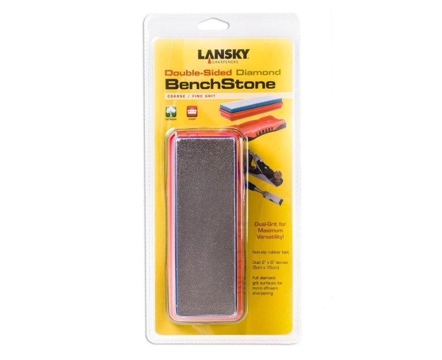 Фото 4 - Точилка Lansky, Double-Sided Diamond Benchstone, DB-1260, 120/600 grit