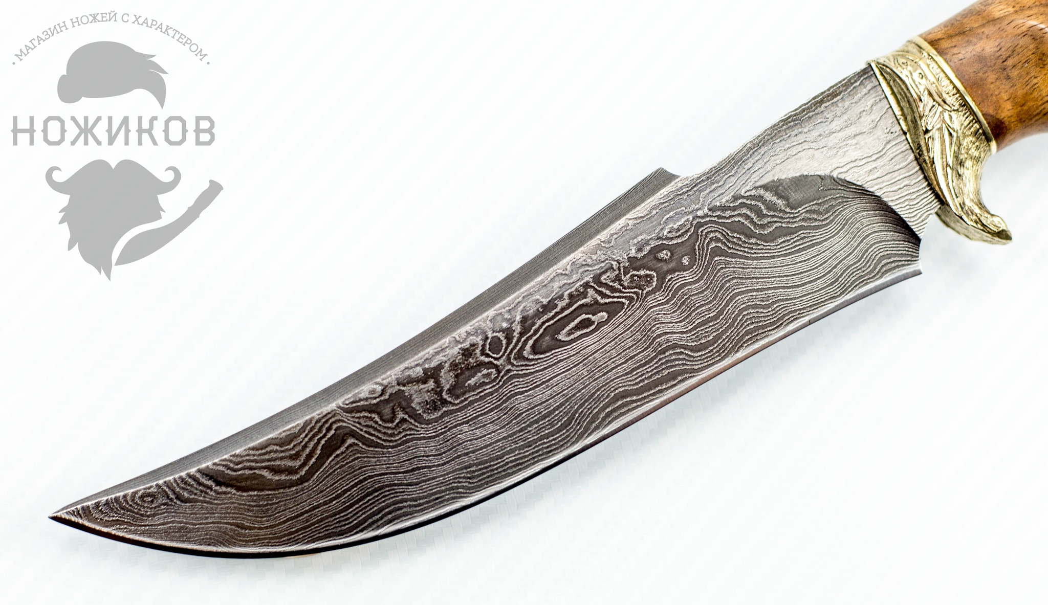 Фото 8 - Авторский Нож из Дамаска №57, Кизляр от Noname