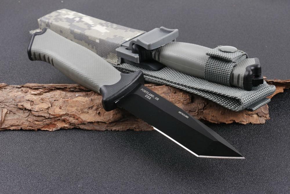 Фото 6 - Нож с фиксированным клинком Gerber Prodogy Tanto, сталь 420HC, рукоять термопластик FRN