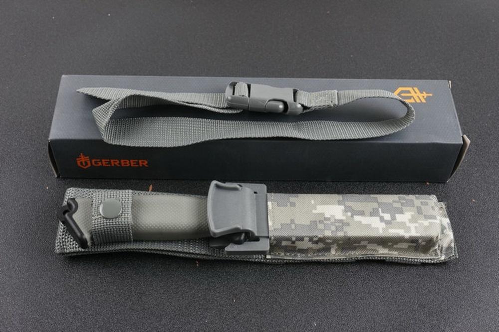 Фото 9 - Нож с фиксированным клинком Gerber Prodogy Tanto, сталь 420HC, рукоять термопластик FRN