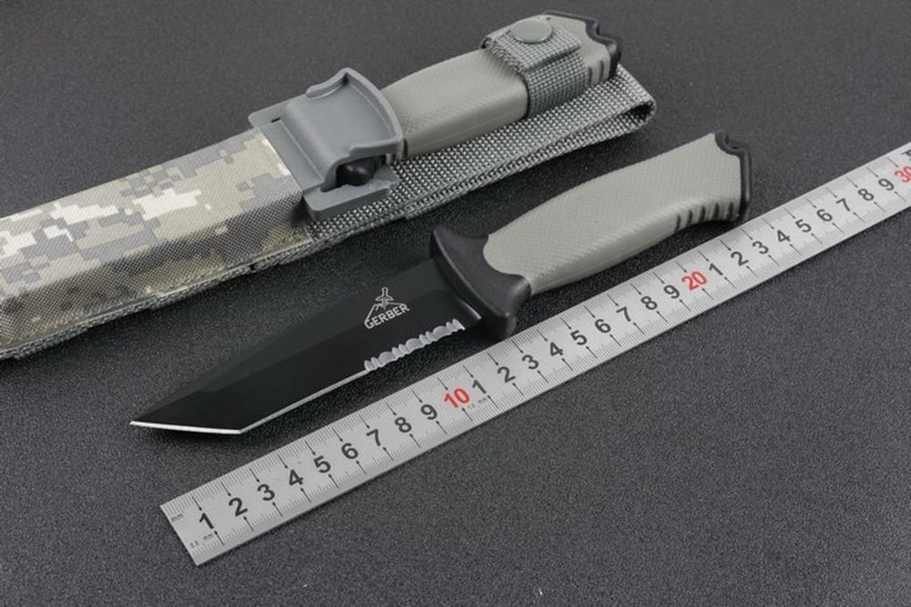 Фото 11 - Нож с фиксированным клинком Gerber Prodogy Tanto, сталь 420HC, рукоять термопластик FRN
