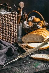 "Нож кухонный ""Samura REPTILE"" для хлеба 235 мм, AUS-10, фото 1"