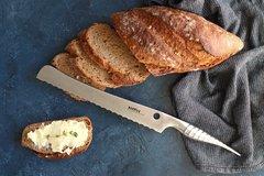 "Нож кухонный ""Samura REPTILE"" для хлеба 235 мм, AUS-10, фото 5"