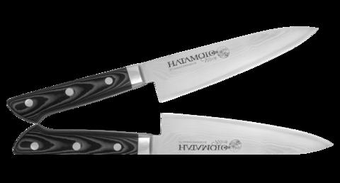 Нож Шефа Hatamoto WAVE, 200 мм, сталь  VG-10 - Nozhikov.ru