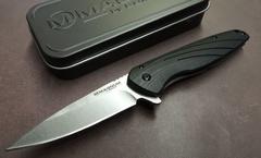 Нож складной Magnum Ellipse, сталь 440А Stonewashed Plain, рукоять стеклотекстолит G10/нержавеющая сталь, Boker 01SC488, фото 5