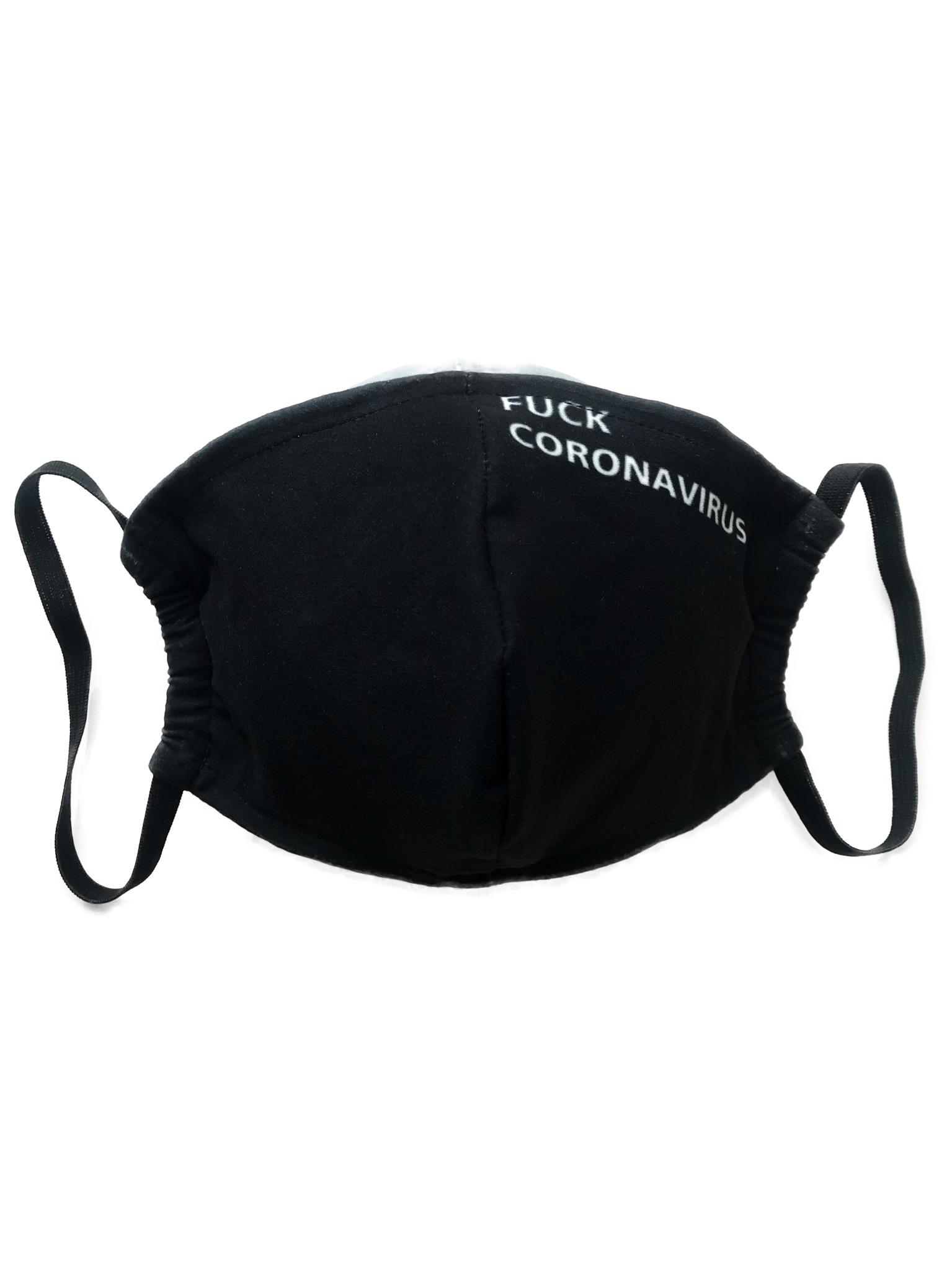 gekoko / Маска тканевая Fuck Coronavirus