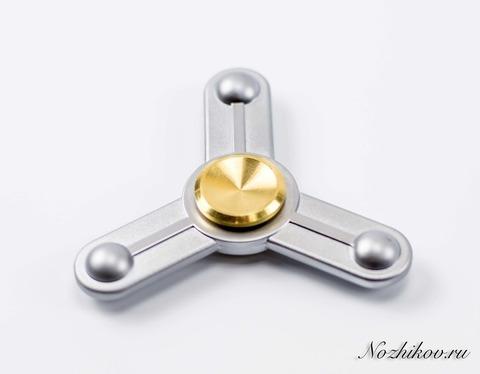 Спиннер (Hand Spinner) Hi-tech silver. Вид 2