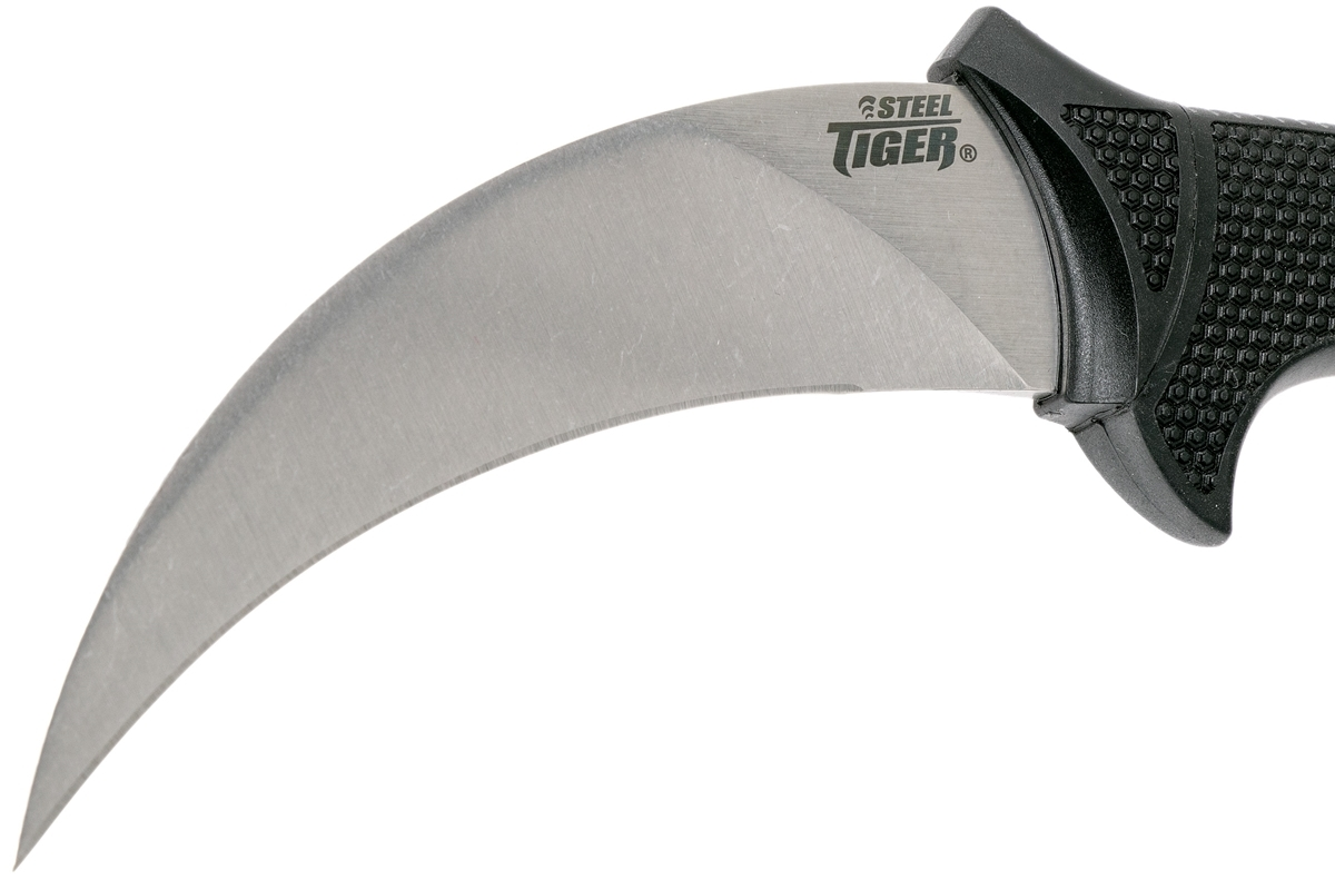 Фото 10 - Керамбит Cold Steel 49KST Steel Tiger, сталь AUS-8A, рукоять высококачественный пластик