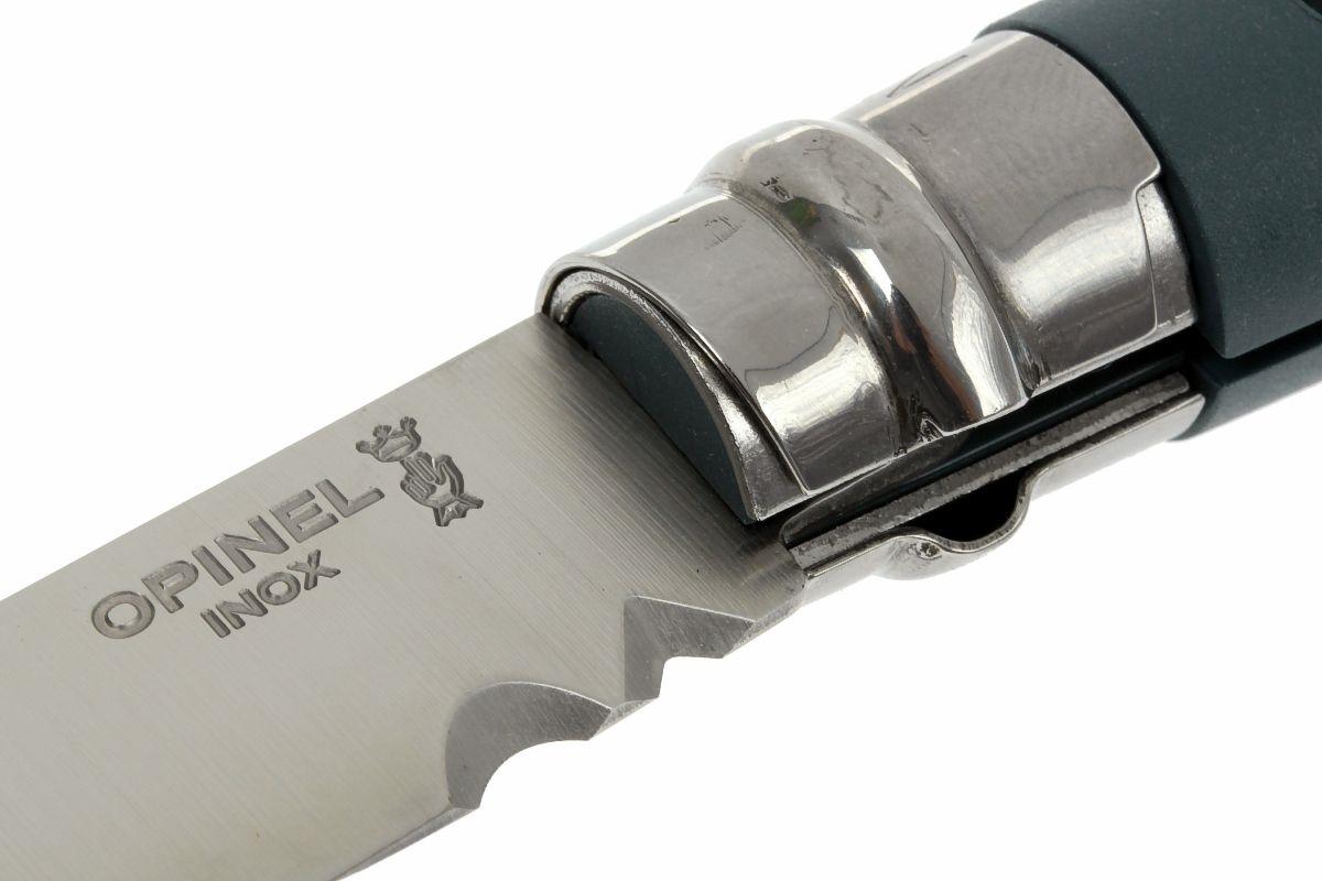 Фото 11 - Нож складной Opinel №9 VRI DIY Grey, сталь Sandvik 12C27, рукоять термопластик, серый, 001792