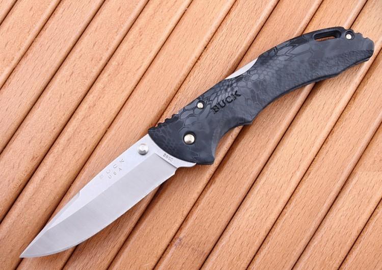 Фото 8 - Складной нож Buck Bantam BHW Kryptek Typhon Camo 0286CMS27, сталь 420НС, рукоять пластик