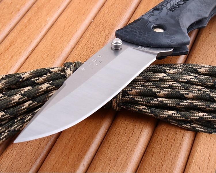 Фото 9 - Складной нож Buck Bantam BHW Kryptek Typhon Camo 0286CMS27, сталь 420НС, рукоять пластик