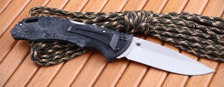 Фото 10 - Складной нож Buck Bantam BHW Kryptek Typhon Camo 0286CMS27, сталь 420НС, рукоять пластик