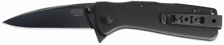 Складной нож Twitch XL Black Tini