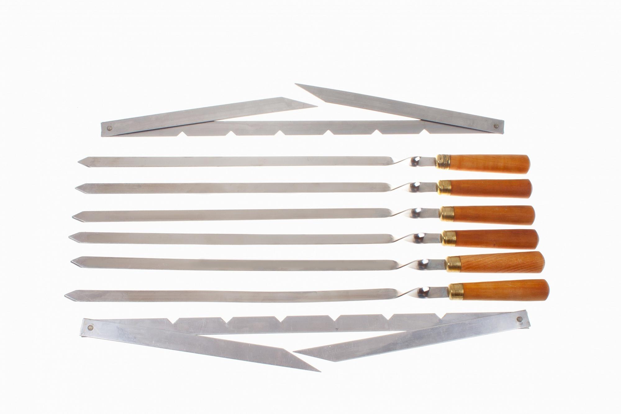 Шашлычный набор №1 от Ножиков