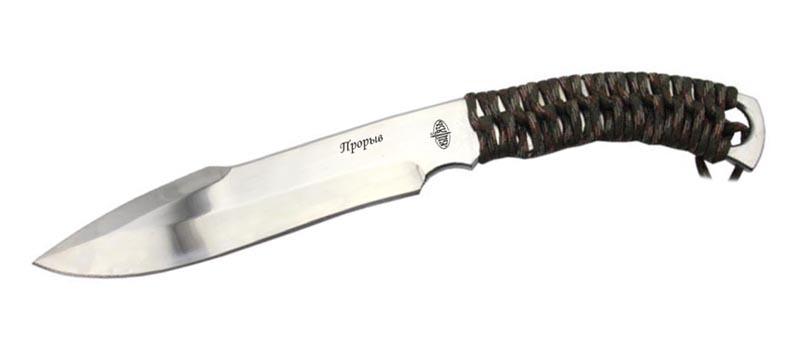 Метательный нож Прорыв, светлый клинок от Витязь