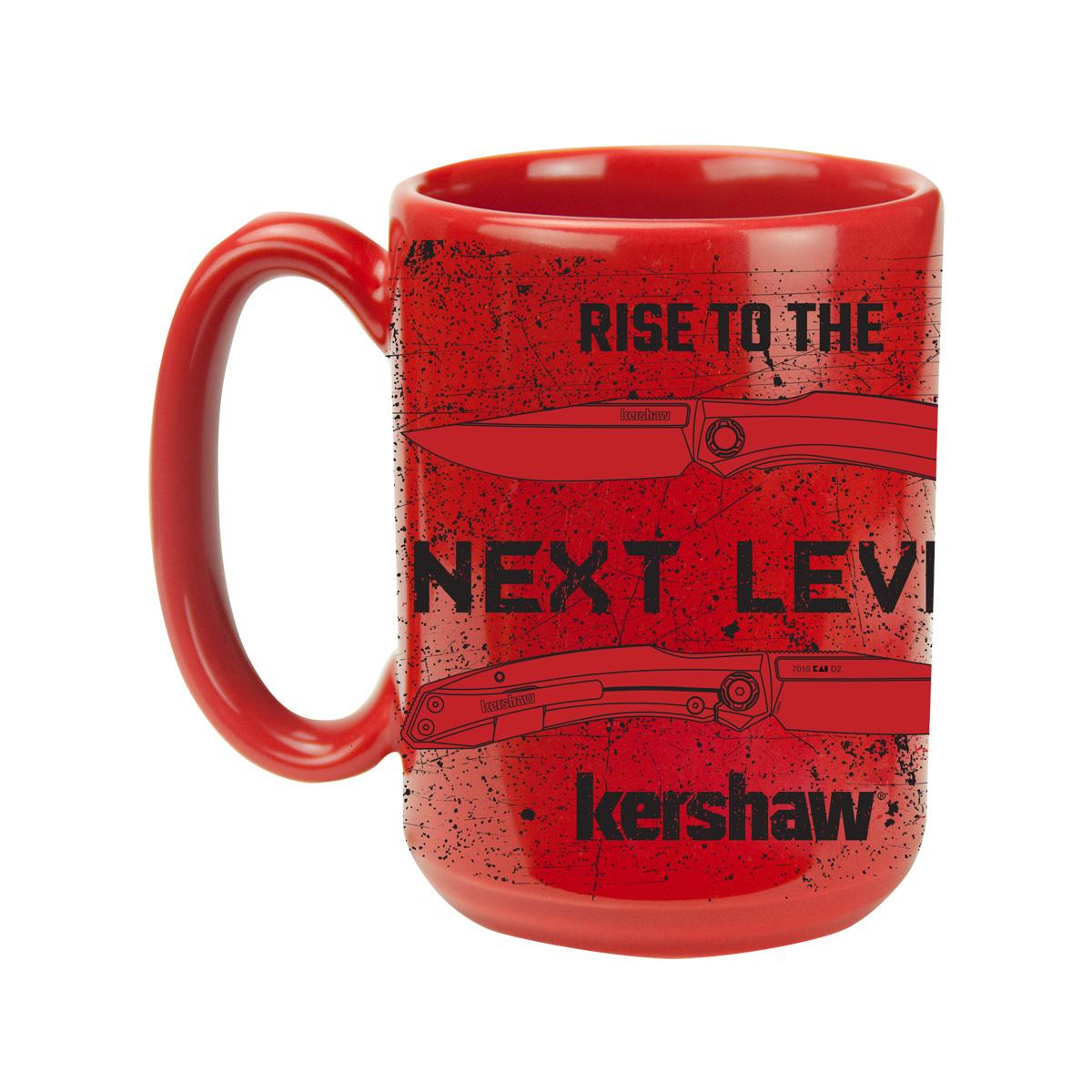Кружка Kershaw NEXT LEVEL, красная