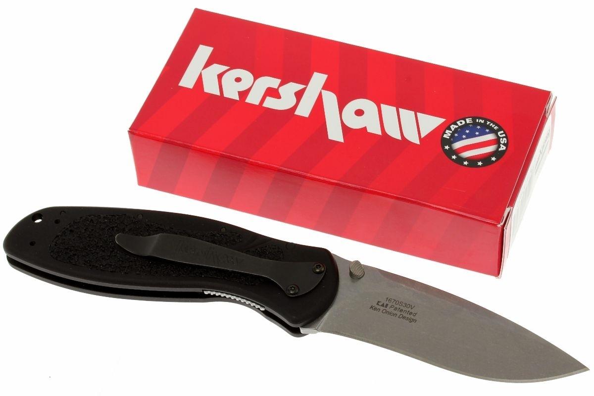 Фото 10 - Нож складной Kershaw 1670S30V BLUR, S30V, сталь CPM S30V, рукоять анодированный алюминий