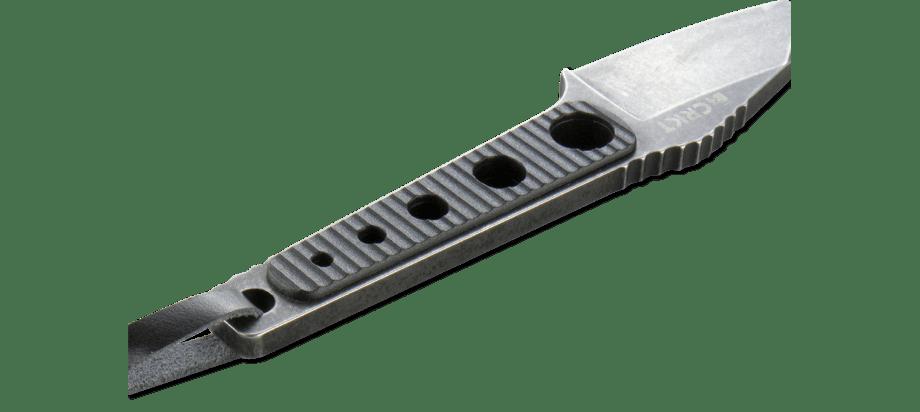 Фото 7 - Нож с фиксированным клинком CRKT No Bother, сталь 8Cr13MoV, рукоять ABS-Пластик