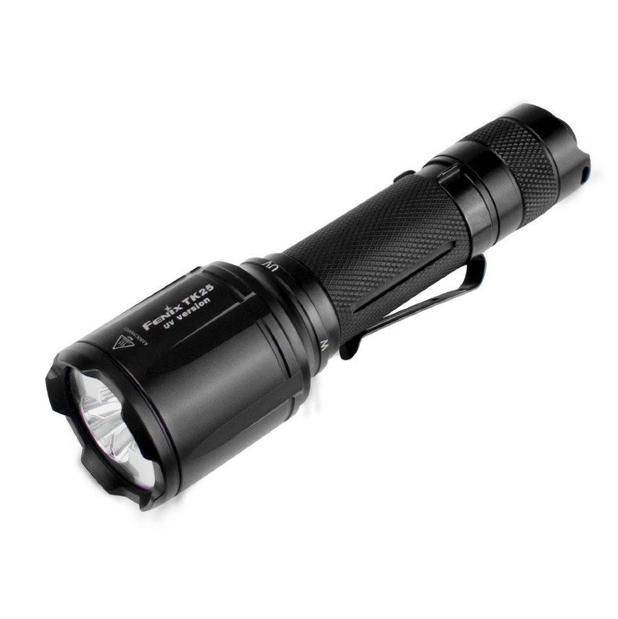 где купить Фонарь тактический Fenix TK25 UV Cree XP-G2 (ультрафиолет) дешево