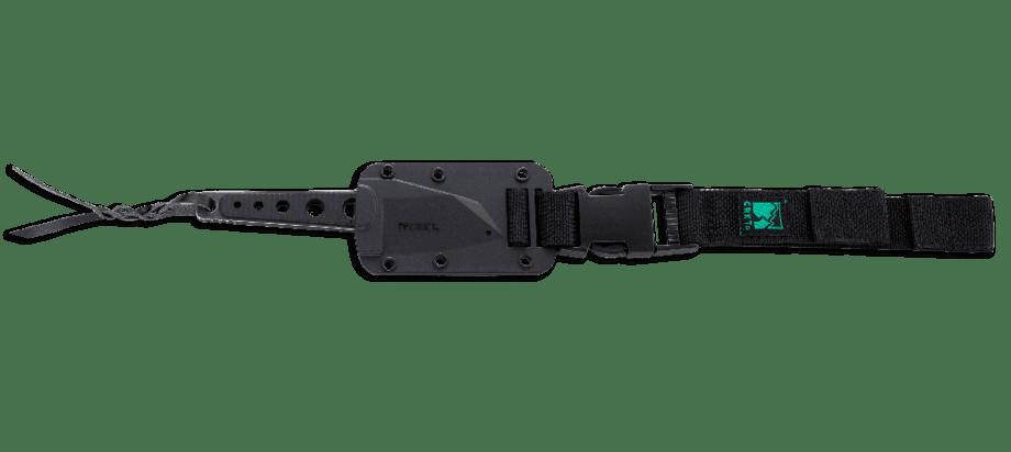 Фото 9 - Нож с фиксированным клинком CRKT No Bother, сталь 8Cr13MoV, рукоять ABS-Пластик